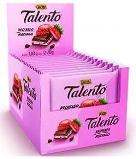 TALENTO Garoto (Recheio Morango, Box 12)