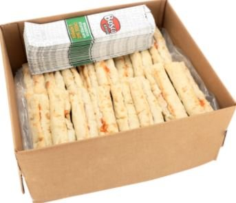 Bosco Stuffed Pepperoni Pizza Stick 7 inch, 4.14 oz-Pack of 72