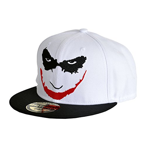 blanco gorra Is hombre joke Joker Gorra On You Batman de snapback de colour para béisbol BxY1EqZw6