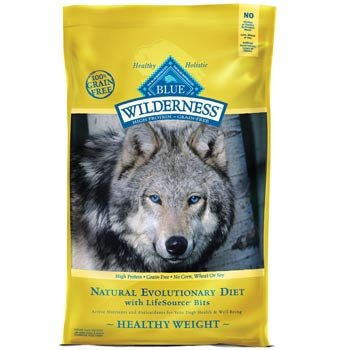 Blue Buffalo Wilderness Healthy Weight Chicken Dry Food for Adult Dogs, 11-Pound
