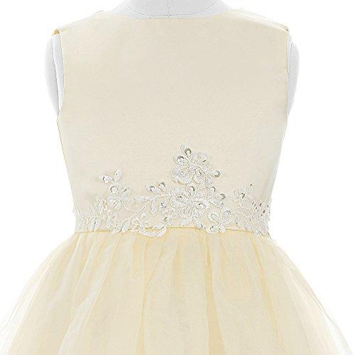 Ans Cérémonie Jupon Filles Grace Longue Perles Cl4491 Karin Princesse Broderies Robe 12 2 2 xwwPCqA