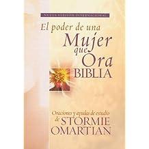 Biblia El poder de una mujer que ora NVI: Oraciones y ayudas de estudio de Stormie Omartian