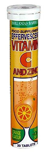 Vitamin C and Zinc Orange Flavour