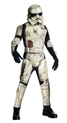 Rubies Adult Death Trooper Zombie Stormtrooper Halloween Costume -
