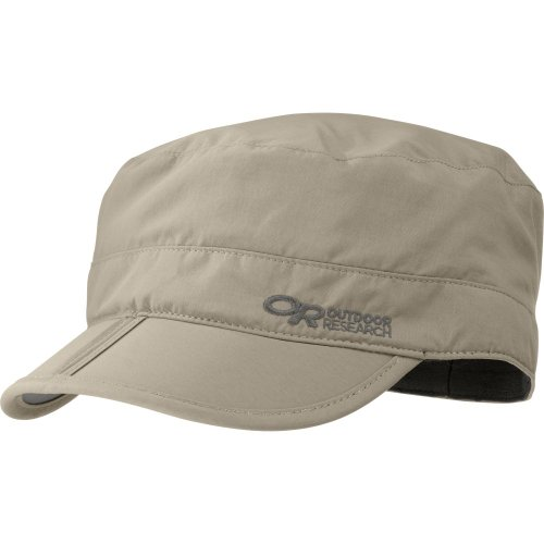 Outdoor Research Radar Pocket Sun Hat, Khaki, Large