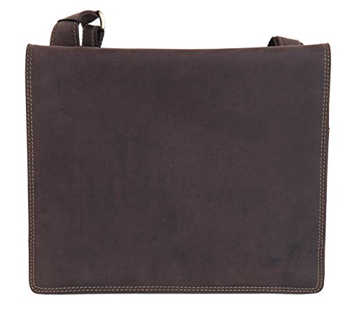 Cuir Bandoulière Ipad Portable Sacoche Huilé 16025 Visconti Marron Pc xCA4wEaq