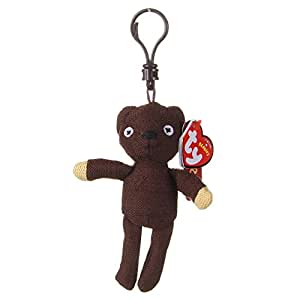 ty beanie babies mr bean teddy keyclip uk exclusive juguetes y juegos. Black Bedroom Furniture Sets. Home Design Ideas