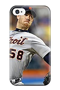 Shock-dirt Proof Detroit Tigers Case For HTC One M8 Cover
