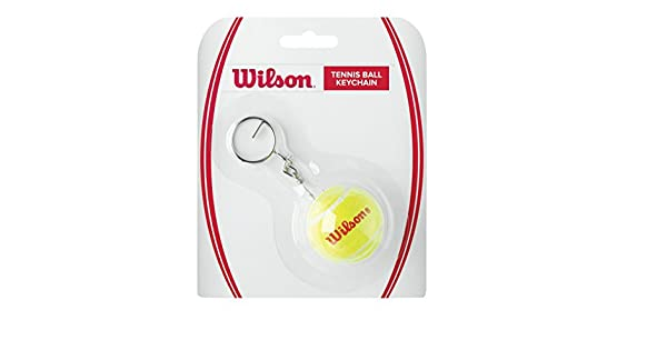 Amazon.com: Wilson Mini pelota de tenis clave Cadena: Sports ...