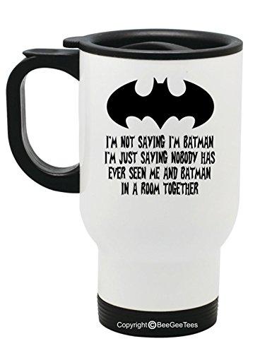 Not Saying Batman Travel Mug product image