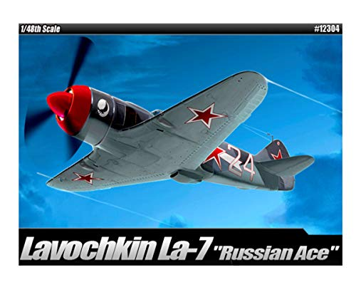 Academy Russian Ace Lavochkin La-7 Plastic Model Kits 1/48 Scale