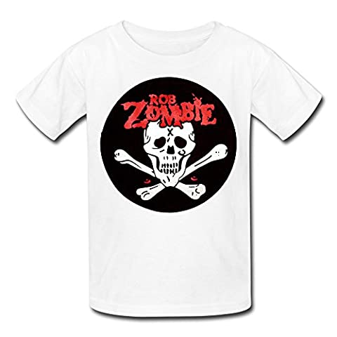 Youth Rob Zombie Dead Return Back Patch Kids Boys And Girls T-Shirt - XL (Educated Horses Vinyl)