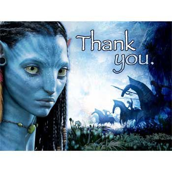 [Avatar Thank You Notes (8-pack) - Party Supplies] (Neytiri Costume Ideas)