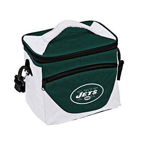 Logo Brands NFL New York Jets Halftime Lunch Cooler, One Size, Navy