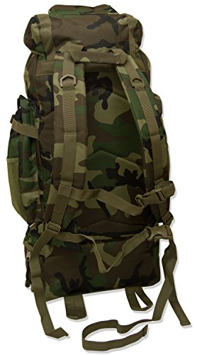 Luggage Rucksack Camouflage Extra Andes Ramada Hiking 120L Camping Bag Large Backpack qv8w0Bq