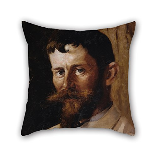 Valdemar Set - 18 X 18 Inches / 45 By 45 Cm Oil Painting Valdemar Sch?nheyder M?ller - Gustav Wied Cushion Covers Two Sides Ornament And Gift To Her Couch Couples Boy Friend Bedding Car Seat