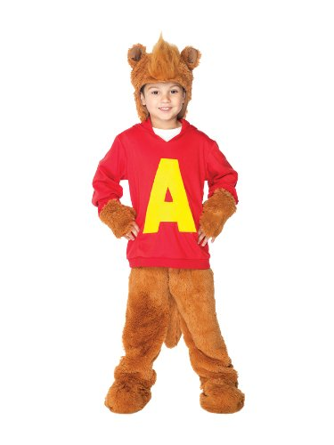 Big Boys' Alvin Chipmunk Costume - XS