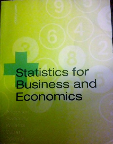 STATISTICS F/BUS.+ECONOMICS >CUSTOM<