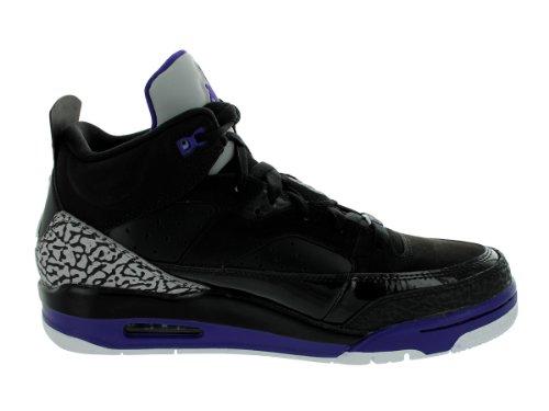Jordan Son Of Low nero / ghiaccio uva / Scarpe da pallacanestro bianche 12 Us