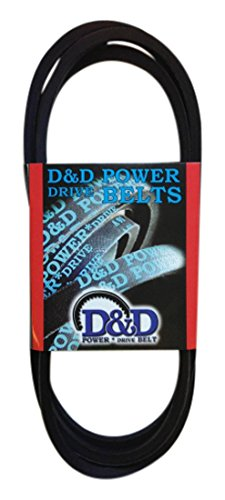 D/&D PowerDrive A82//4L840 V Belt Rubber 1//2 x 84 OC A//4L