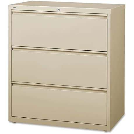 Lorell LLR88027 3 Drawer Lateral Files 36