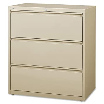 amazon com lorell llr88027 3 drawer lateral files 36 home kitchen rh amazon com 3 drawer lateral file cabinet 3 drawer lateral filing cabinet dimensions