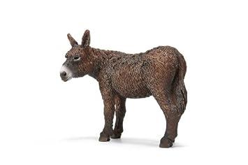Schleich 13661 - Figura/ miniatura Granja, Poitou-burros: Amazon.es: Juguetes y juegos