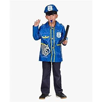 Hkteck - Disfraz policía: Amazon.es: Juguetes y juegos