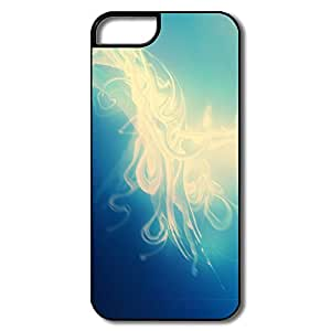 Abstract Blue Pc Great Cover For IPhone 5/5s