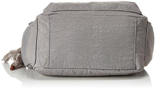 Kipling Damen Gabbie Umhängetaschen, 35.5x30x18.5 cm Grau (Urban Grey C)