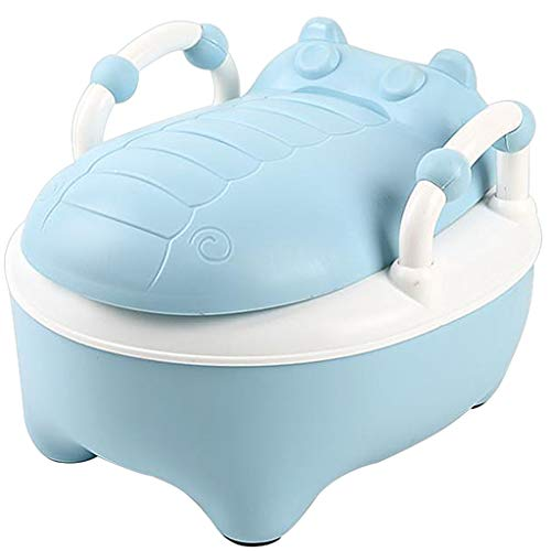 XWJC Children's Toilet Child Urinal Cartoon Large Drawer Baby Toilet Male and Female Baby Toilet (Color : Blue) by XWJC (Image #7)