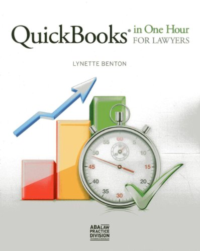 Office Accounting Quickbooks (QuickBooks in One Hour for Lawyers)