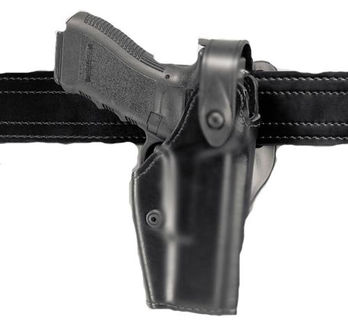 Safariland 6280 Level II SLS Retention Duty Holster, Mid-Ride, Black, STX Plain, Sig P228, P229, P225 from Safariland