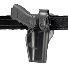 Safariland 6280 Level II or III Retention SLS Duty Holster Mid-Ride, Black, Right Hand, Glock 19, 23 with M3
