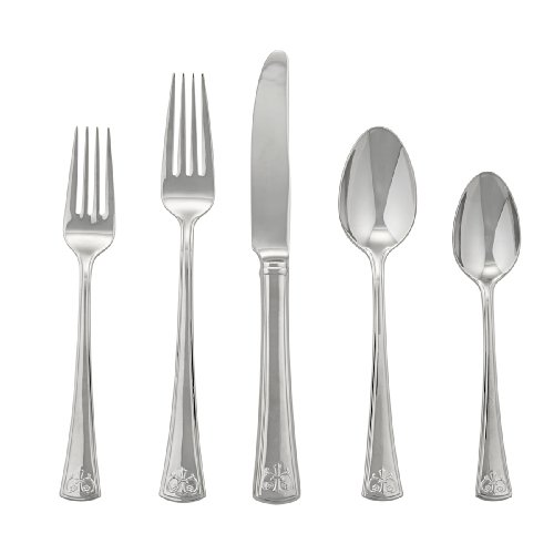 (Lenox Autumn Legacy Flatware 5 Piece Place Setting, Service for 1)
