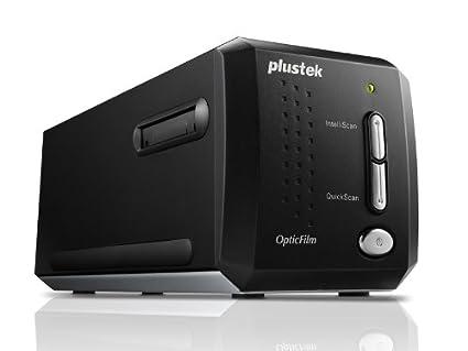 Plustek OpticFilm i Ai Film slide scanner x DPI Negro Escáner