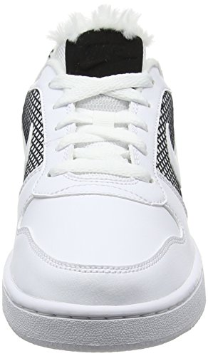 Da Donna Court Nike Basket Borough black white Bianco white Se Scarpe Iw1U7g