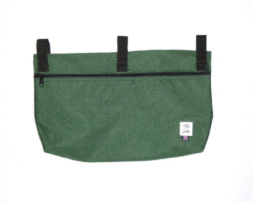 Handi Pockets 2b6fg Storage Accessory Walker, Cordura, Forest Green with Zipper by Handi Pockets