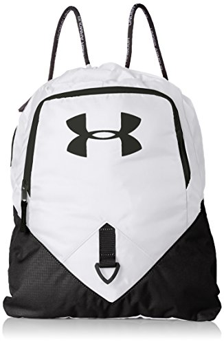 Under Armour UA Undeniable Sackpack, White (100)/Black, One Size Fits All