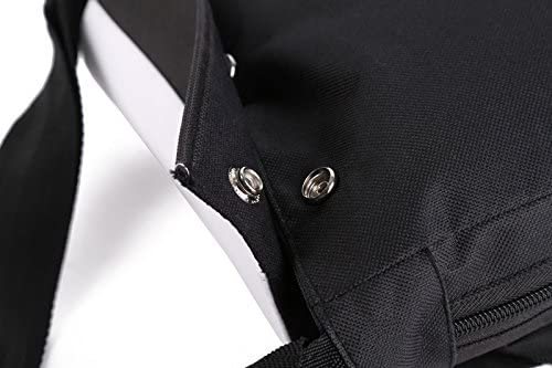 RESS TGR Dalmatian Unisex Polyester Fiber Messenger Bag Cross-Body Bag Daypack Bag