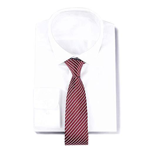 FYDL Corbata Tejida Corbatas de Seda de Seda para Hombres Negocios ...
