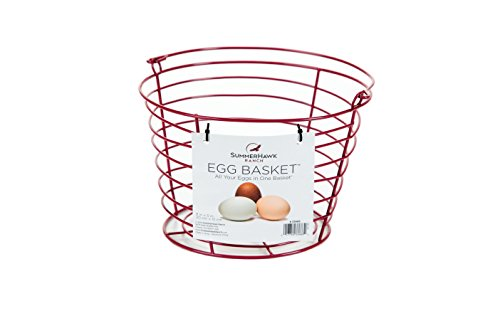 SummerHawk Ranch Egg Basket (Red Basket Farm)