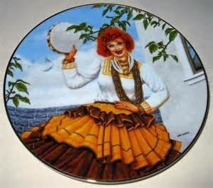 Queen of the Gypsies I Love Lucy Collectors Plate Orig Bx+coa