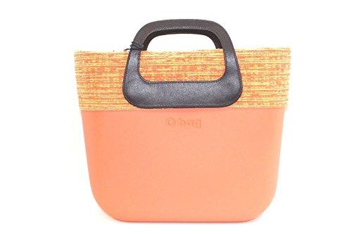 ad1d7a8e48 T O di Bordo Con Papaya Mini Moro Sacca Oblo E manico Bag Borsa 8qwB6pp