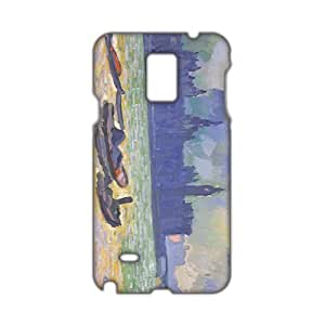 Evil-Store Sea scenery Painting 3D Phone Case for Samsung Galaxy Note4