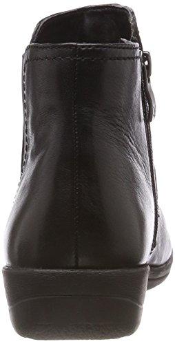 22 Bottes Femme black Noir Caprice Chelsea 25405 Nappa Zvqw5W01T