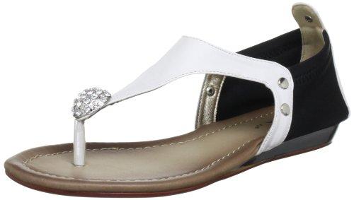 donna Sandali Lunar White Blanc Bianco Jlh296 nTH6HWFz