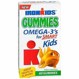 Fer enfants Gummies Omega 3, 60 Gummies