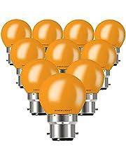 Colourful LED G45 Bulb ( Pack of 10 )