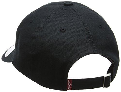 Gorra Hombre Fit Black Noir Negro para de Flex béisbol Regular 59 Big Levi's Batwing wSCq8pIT